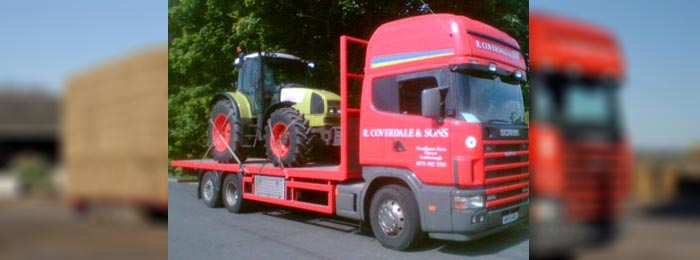 R Coverdale haulage