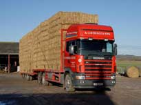 Straw, Hay, Haylage, Silage delivered from North Yorkshire